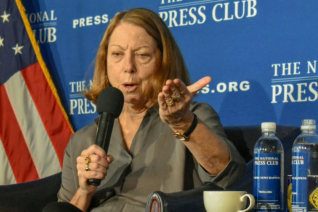 Author and journalist Jill Abramson
