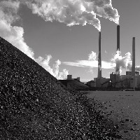 Coal at a power plant (Sierra Club/Flickr)