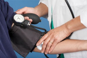 Taking blood pressure (WomensHealth.gov)