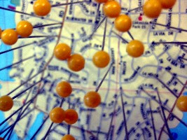 Pins on a map (CJ Sorg/Flickr)