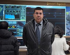 Rajit Gadh visiting Jeju Island, Korea (UCLA)