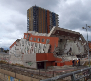 Earthquake damage in Chile (John Wallace, UCLA)