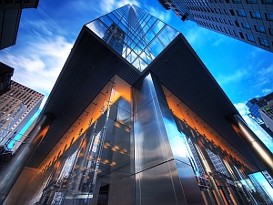 Glass office building (Paul Bica/Flickr)