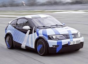 Visio.M prototype e-car (A. Heddergott / S. Rauchbart, Technische Universität München)