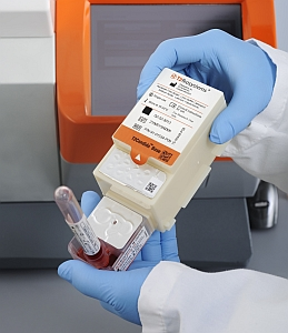Sample collection module on T2MR system (T2 Biosystems)