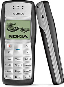 Nokia 1100 entry-level cell phone