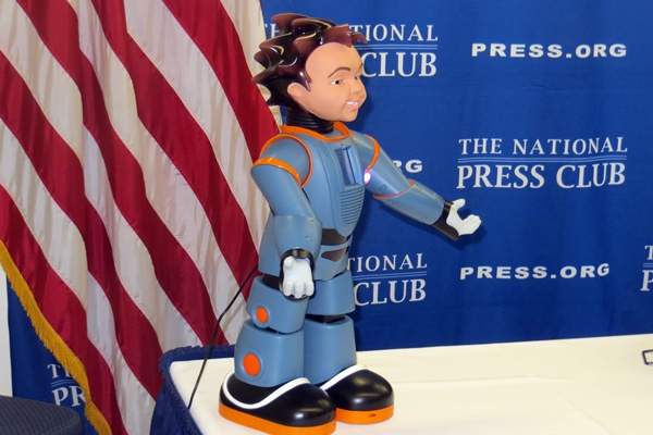 Milo, humanoid robot