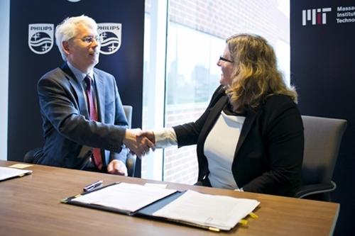 Henk van Houten and Karen Gleason