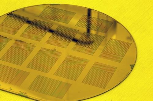 Sensors on wafer