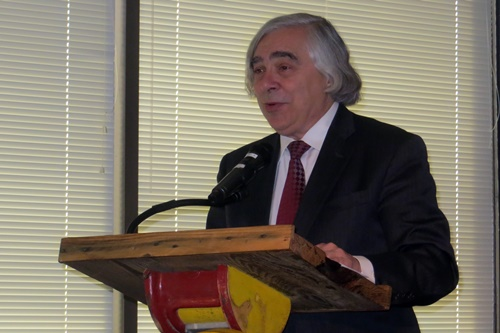 Ernest Moniz at 1776