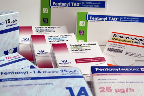 Fentanyl patch products