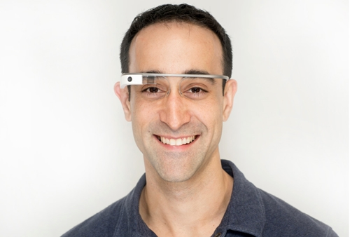 Ian Shakil with Google Glass