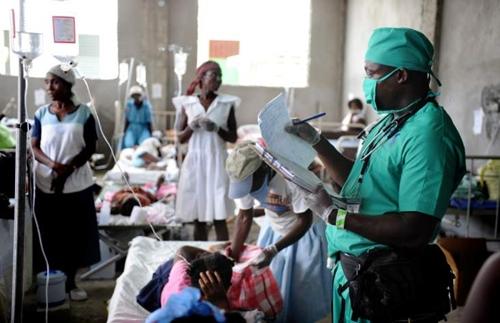 Cholera clinic
