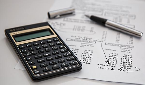 Finance, calculator
