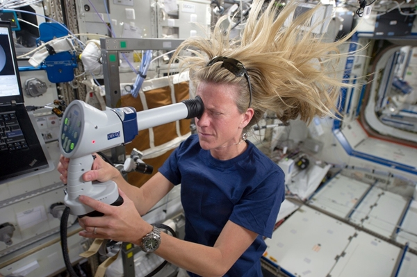 International Space Station crew member