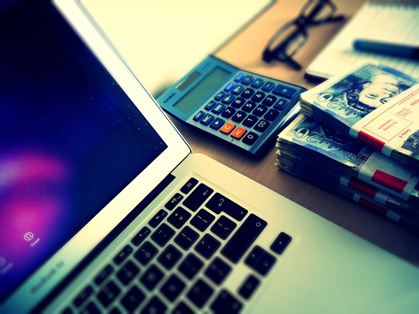 Money and calculator
