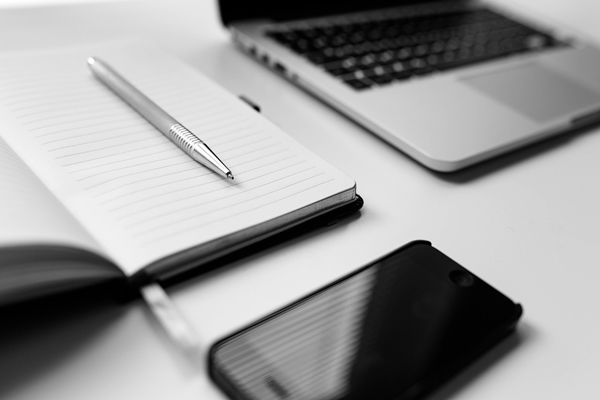 Phone, notebook, laptop