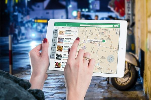 Map on iPad