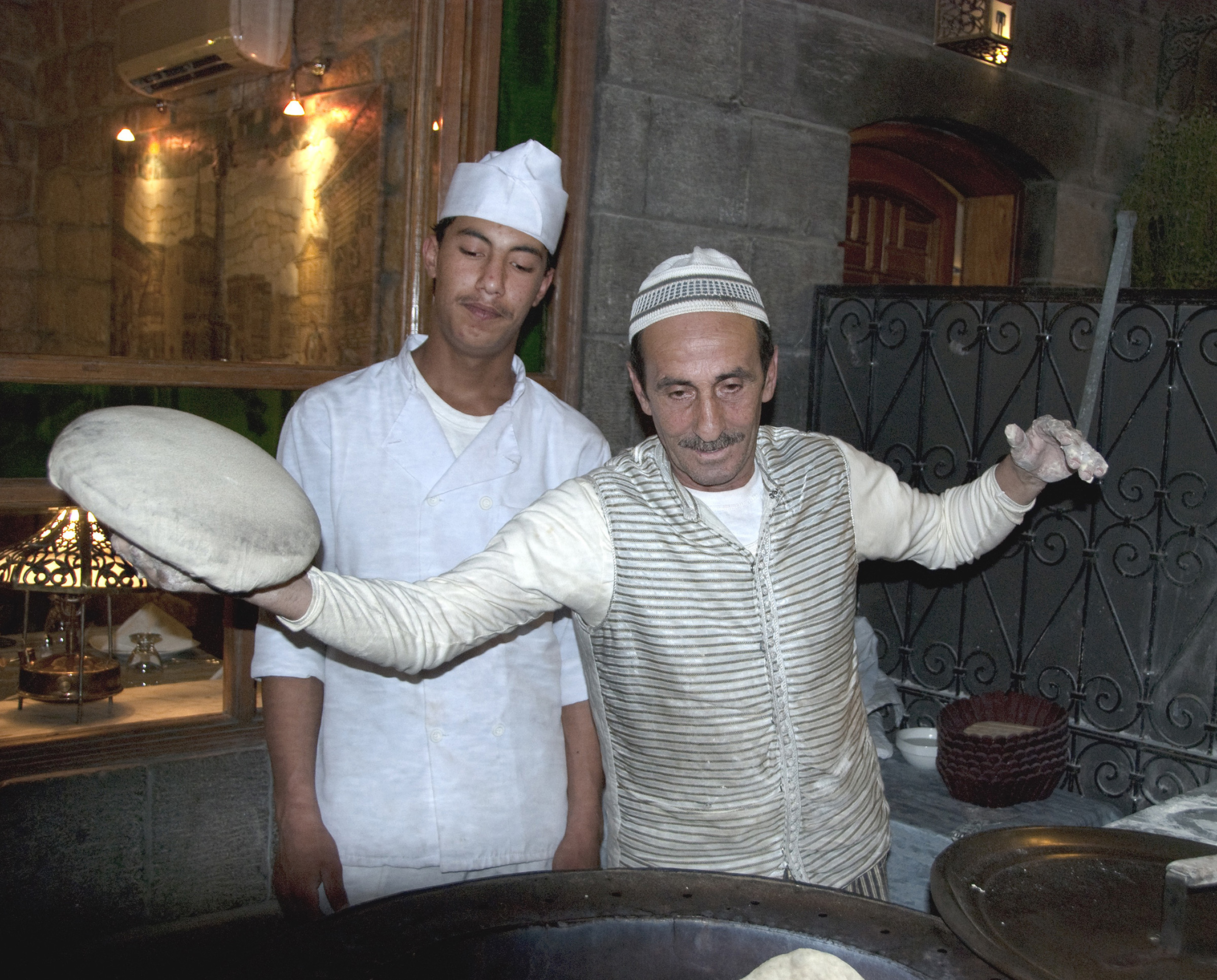 Syrian bakers