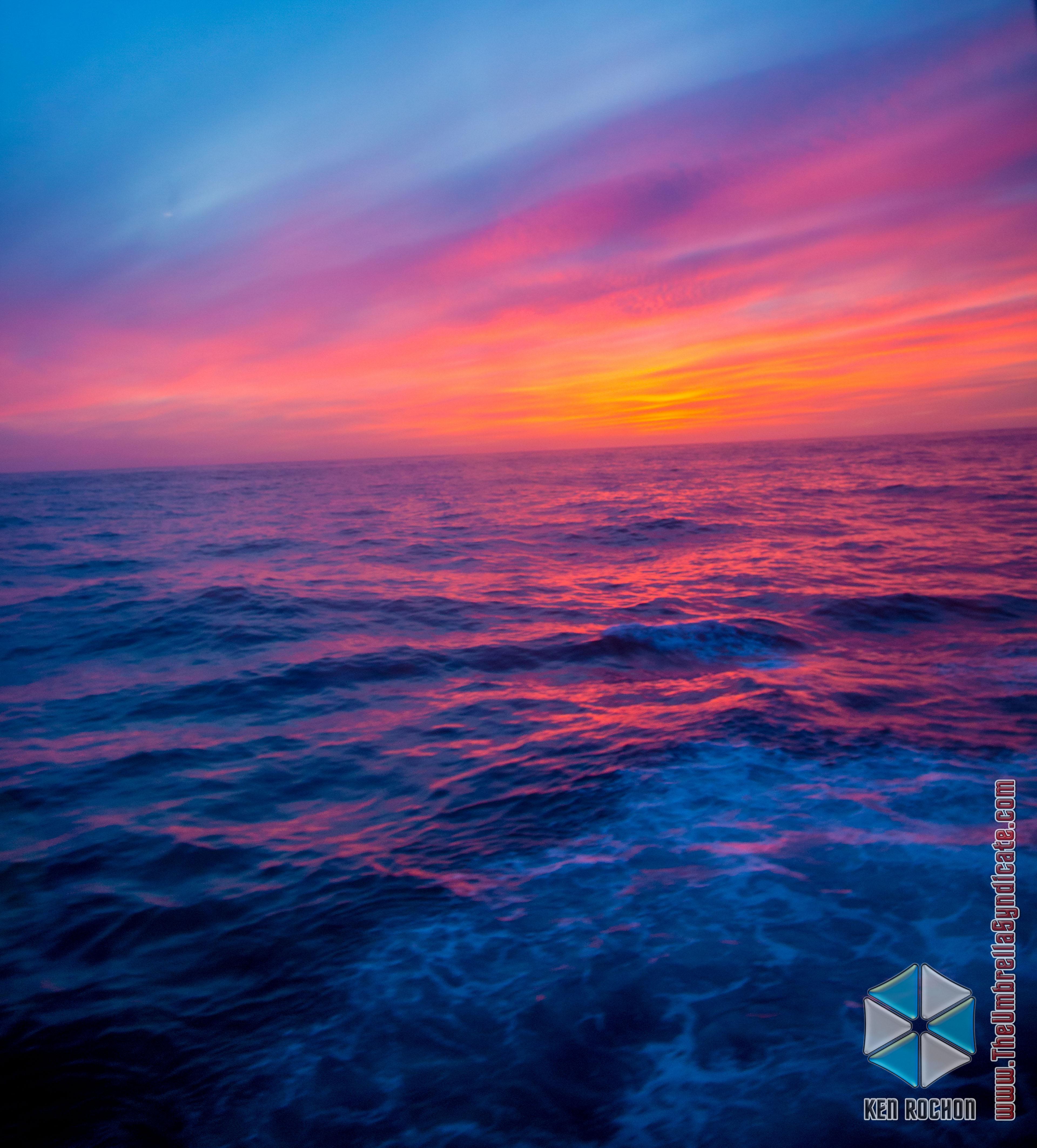 Rainbow Ocean Sky