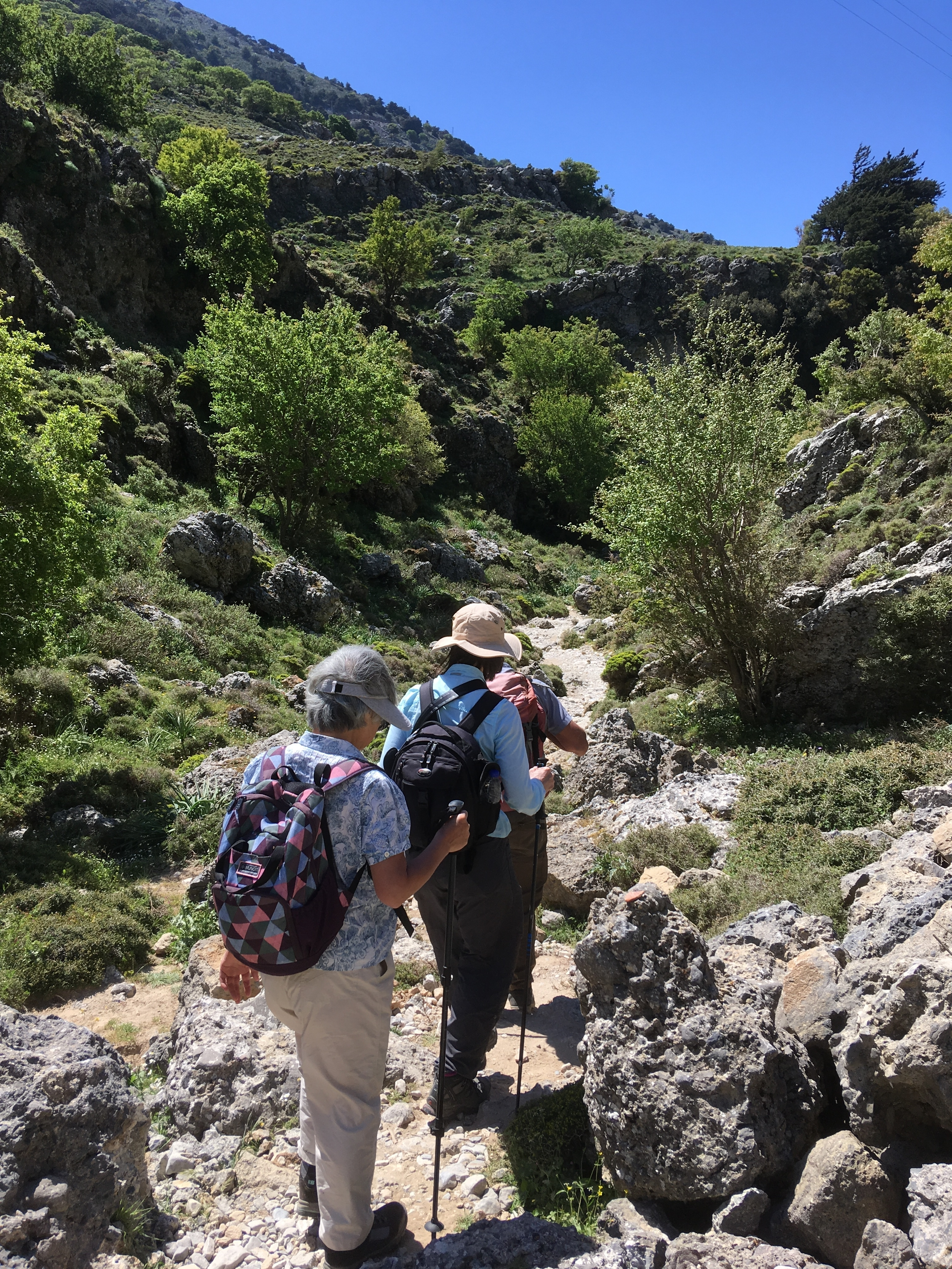 Hiking on Crete