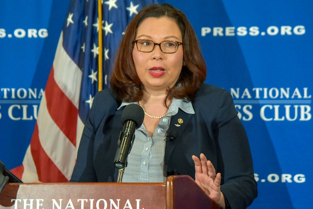 Sen. Tammy Duckworth (D, IL)