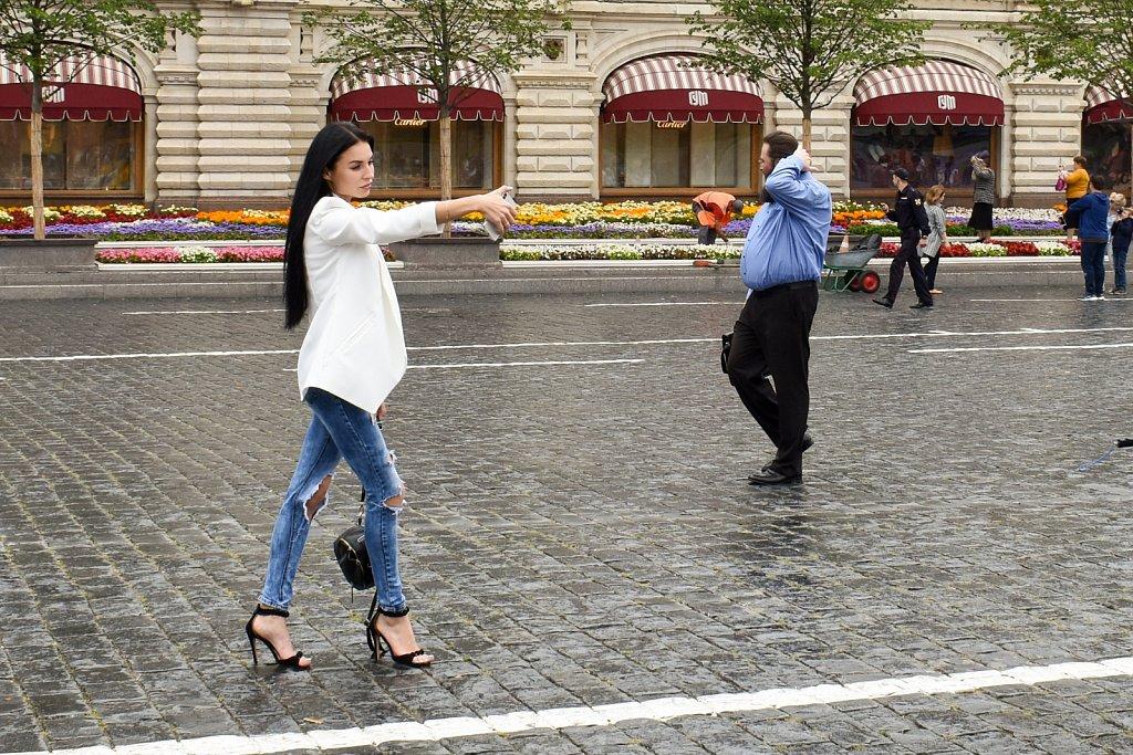 Red Square selfie