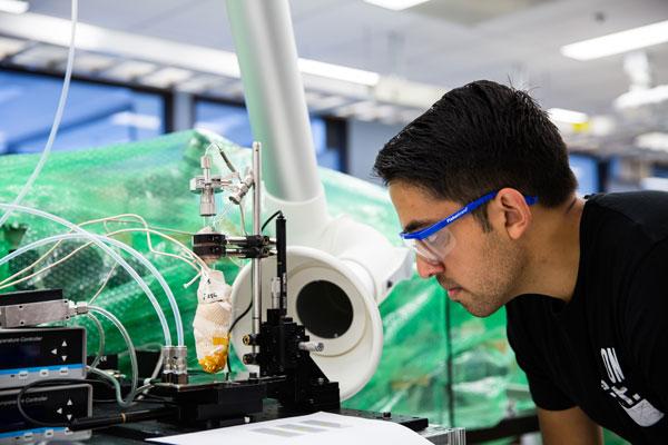 Gas-jet printing