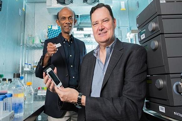 Chandra Mohan and Richard Willson