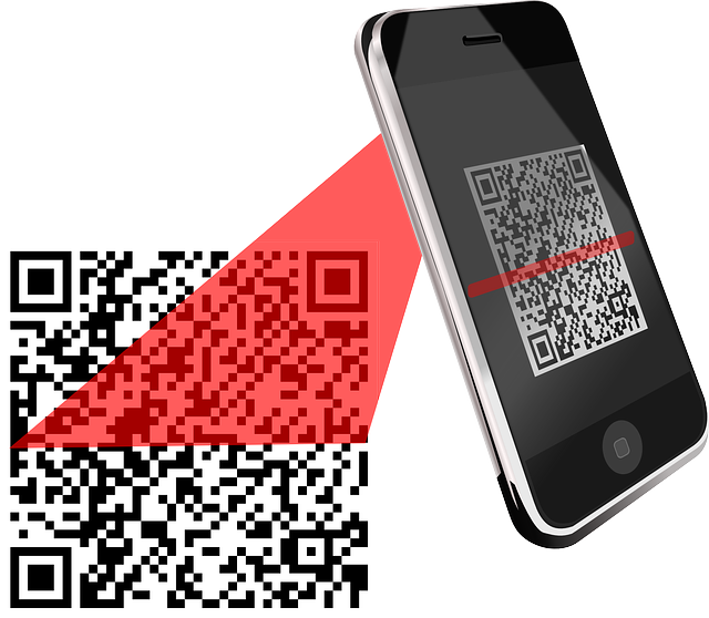 QR codes graphic