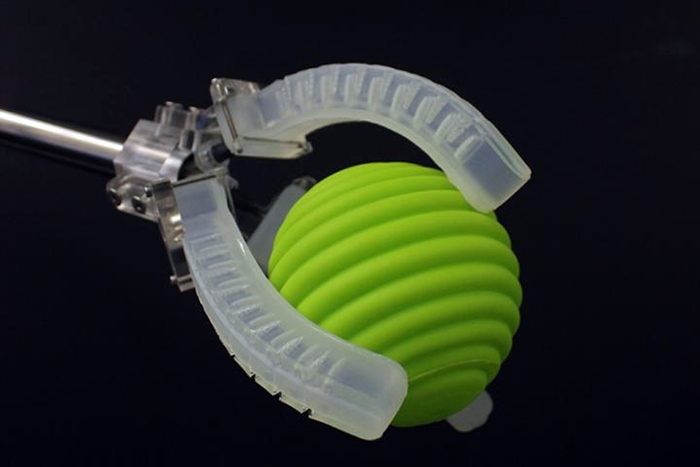 3-D printed soft gripper