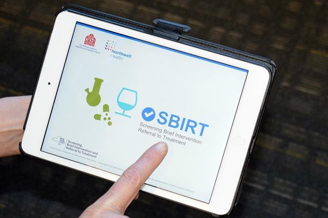 SBIRT tablet app