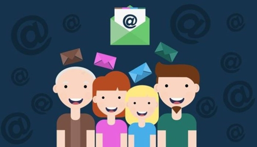 Email newsletter graphic
