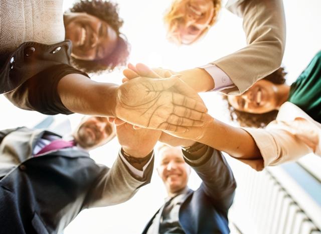 Group handshake