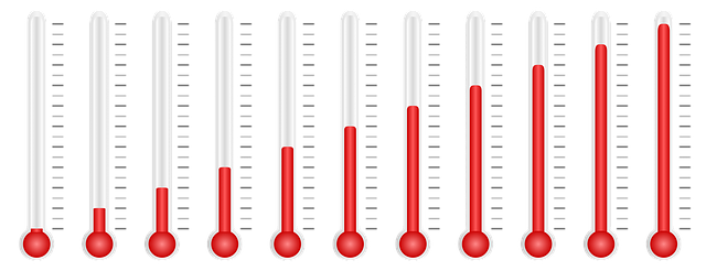 Thermometers graphic