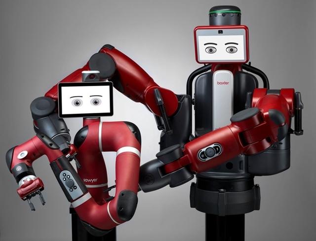Robots Sawyer and Baxter
